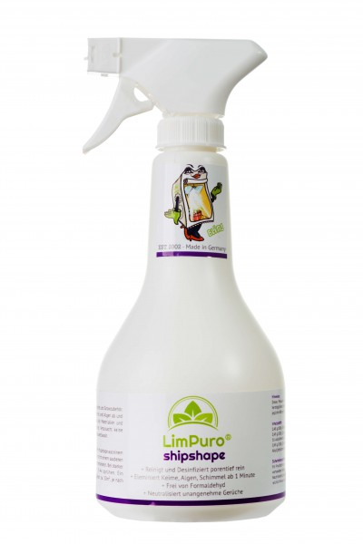 LimPuro® shipshape Desinfektionsreiniger 500ml